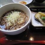 40791684 - 「冷たい蕎麦」(冷やかけ)+「野菜天ぷら」