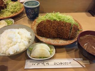 とんかつ鈴本 - 201412 カツライス(1300円)