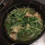 40793772 - 京水菜の油かす炒め
