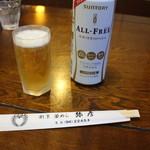 釜めし弥彦 - ノンアルコールビール 600円