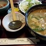 香流庵 - カレーうどん定食930円
