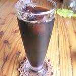 レストランメルシー - セットメニューのアイスコーヒー