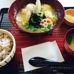 40797851 - スケソウ鱈のおろし餡掛け定食