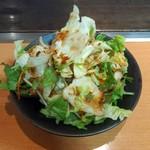 鶴橋風月 - サラダバーのサラダ