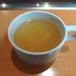 鶴橋風月 - スープ