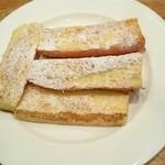 喫茶 グリーン - フレンチトースト(フランスパン)