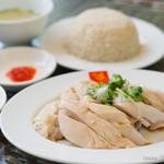 威南記海南鶏飯 - スチームチキンライス(ランチ)【2015年8月】