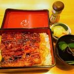 ひろ寿司 - うな重(大)