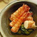 三平寿し - 海老酢