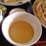 田舎うどん てつ - 2006年5月 落花生のつけ汁