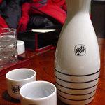 居酒屋ココ - 北の誉(熱燗)