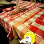 ブラッスリー・グー - テーブル