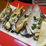 五島丸 - あげまき貝のバター炒め