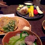 木村屋本店 - からし蓮根、焼き野菜など