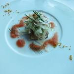 40801217 - イナダのマリネエピス風味 トマトクーリと共に