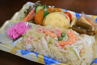 主婦の店 さいち - 海老と蟹のお弁当(450円)