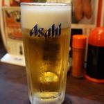 なごみどり - 生ビール(520円)