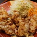なごみどり - 唐揚げ定食(780円)