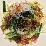 さかな竹若 - 海藻たっぷり竹若サラダ