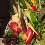 40805873 - 十五種類の野菜盛り合わせ