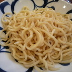 周月 - つけ麺の麺☆☆