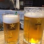 ROCCOMAN - 生ビール MEGA&NORMAL比較