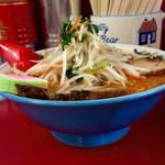 らい久 - ▪️味噌 野菜ラーメン650円