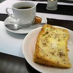 山水 - まかない御膳:コーヒー&デザート