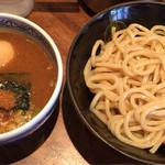 三田製麺所 - つけ麺中 味玉トッピング