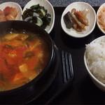 とんがらし - 豆腐チゲ定食