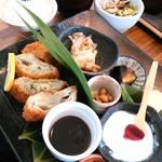 ku-ya - 料理写真:チーズin豚カツ定食(1,080円)