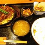 酒肴処番屋 - 料理写真:ステーキ定食