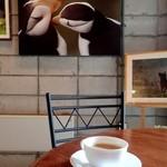 海の宇宙館 喫茶コーナー - 料理写真:ヨーロピアンコーヒー;癖無く飲み易いエスプレッソです @2015/08/11