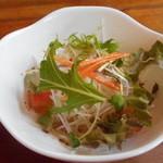 グラナダ - ランチのサラダ