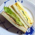 サンアントン ベーカリー - ハム卵トースト280円