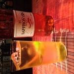 Bar 甑 - コリアンダーやレモン、オレンジピールなど、様々な香草を使った香り高いジンでございます。