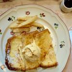 カフェローズマリー - 料理写真:フレンチトースト