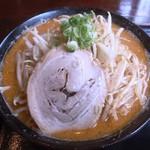 麺匠 あらき - 北海道百年味噌大盛り・野菜720円+100円+90円