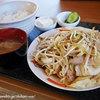 Yamanashokudou - 料理写真:野菜炒め定食 ¥850