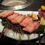 Matsunagabokujou - 追加注文のUSタン 厚切りタン 1880円
