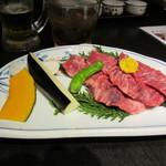 Matsunagabokujou - 炭火焼カルビランチ 1500円