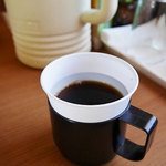 山奈食堂 - セルフサービスのアイスコーヒー ¥0