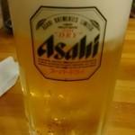 七輪焼肉 安安 - ビール