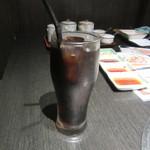 松永牧場 - おまかせ焼肉セットに付くアイスコーヒー