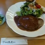 飛騨琢磨 - 限定8食のハンバーグランチ