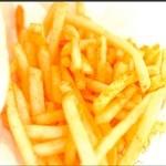 元祖 三ヶ森バーガー - シャカシャカポテト★味は鬼ウマ バター醤油です(´▽`*)