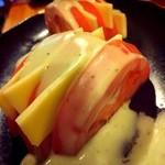 空花 - トマト&モッツァレラ¥600