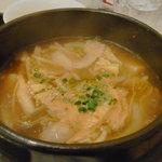 くんむる食堂 サンギュ - ランチメニューのカルビスープ
