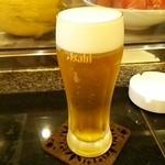 楽家 - 生ビール
