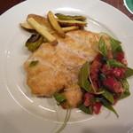 IL BAFFO - 大山鶏のコトレッタ ケッカソース(取り分け後)